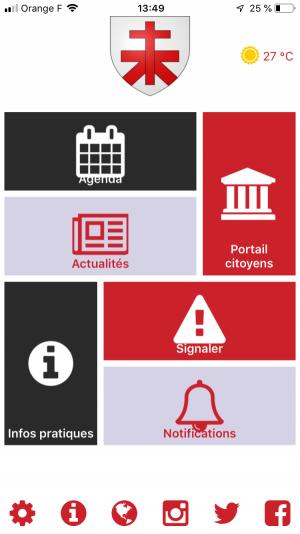 Montauroux «SMART CITY» : une application smartphone «Montauroux»