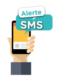 Le service alerte «SMS»