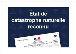 Reconnaissance Catastrophe Naturelle